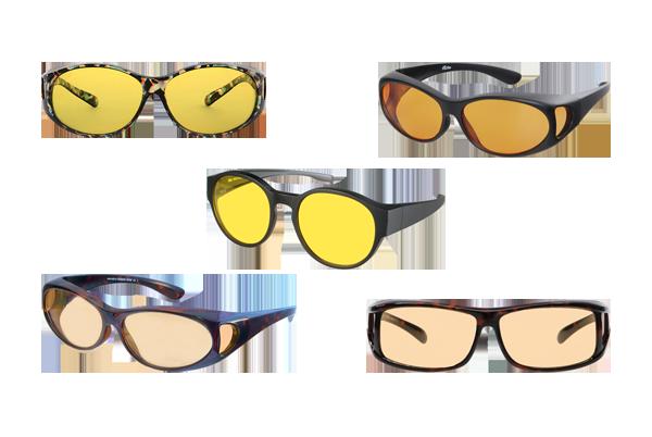 FitOfar- kontrastilasit silmälasien päälle